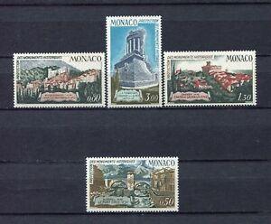 S12406-Monaco-MNH-1971-Monuments-4v