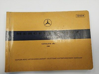 Acquista A Buon Mercato Mercedes 220 Se 1960 Catalogo Ricambi Originale In Viaggio