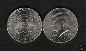 john f kennedy 50 cent coin