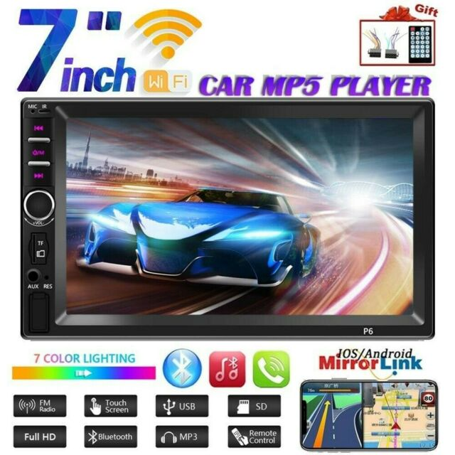 "7/"" 2Din Car MP5 Player Bluetooth Touchscreen Stereo Radio Mirrorlink For Android"