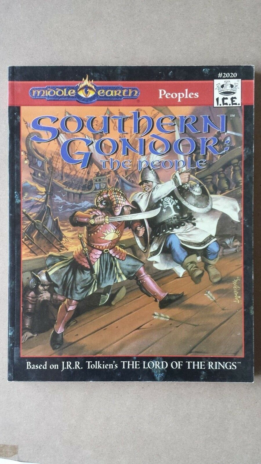 MERP Southern Gondor  The People  2020 NEW MINT