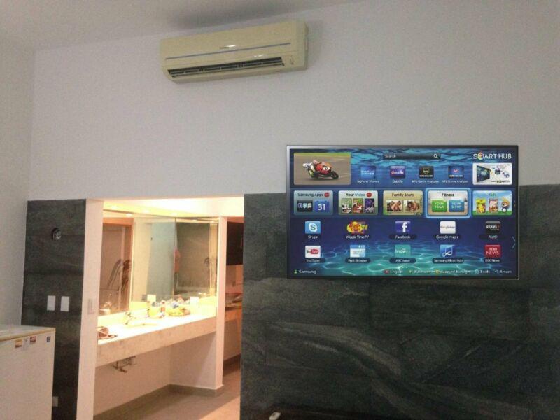 Bonito departamento con Aire Acond-Cable-Internet ideal para ti!  #bienesraicesmerida