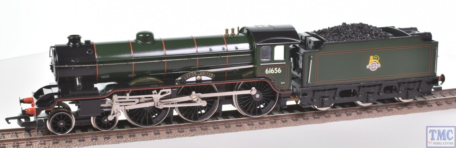 Hornby OO B17 Leeds United 61656 Coal Crew Renumberosso & Glossed(R060)(Pre-owned)