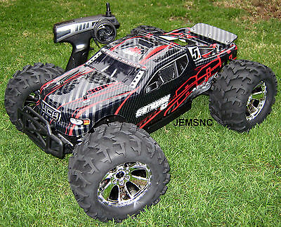 Redcat Racing RC EARTHQUAKE 3.5 1/8 SCALE R/C NITRO MONSTER TRUCK! Very Fast!
