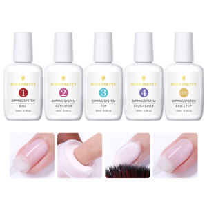 BORN-PRETTY-7-15ml-Dipping-Powder-System-Liquid-Nail-Art-4-Steps-No-UV-Gel-Tools