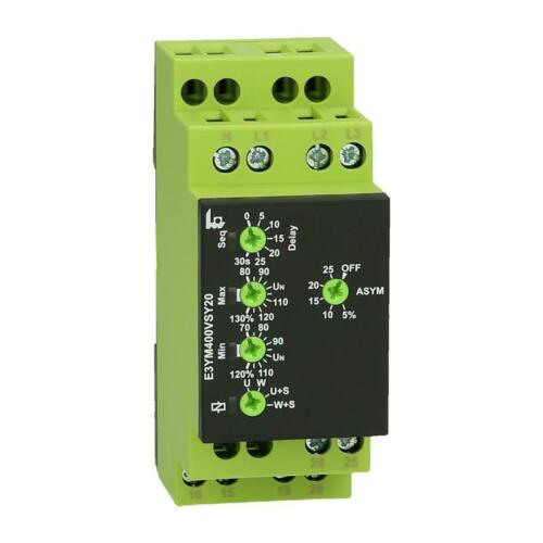 Voltage Monitoring Relay Tele Haase Enya E3YM400VSY20 for 1//3 phase networks