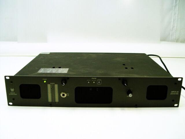 Wohler AMP2A-4S AMP2A-4S AMP2A-4S Monitor De Audio Analógico Panel 74796a