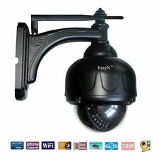 EasyN Outdoor IP Camera Wireless Wifi Network PTZ HD IR Waterproof Night Vision