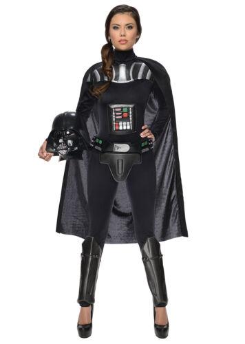 Fancy Dress Costume ~ Ladies Star Wars Darth Vader Size 6-16
