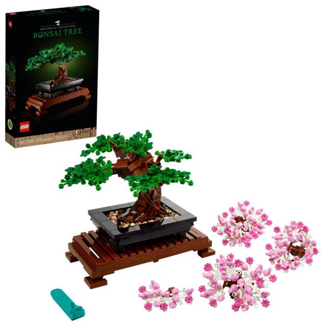 LEGO Bonsai Tree 10281 Building Kit (878 Pieces)⚡️GLOBAL SHIPPING⚡️🚛💨
