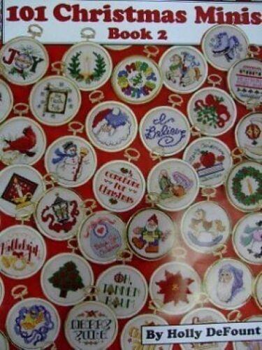 Cross Stitch Chart//Pattern Book 2 101 Christmas Minis