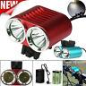 2 x 6000 LM CREE T6 LED Bicycle Cycling Light Waterproof Lamp Headlight Headlamp