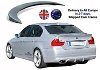 BMW E90 Trunk Lip Spoiler Wing Serie 3 4 Doors from 2005-2011