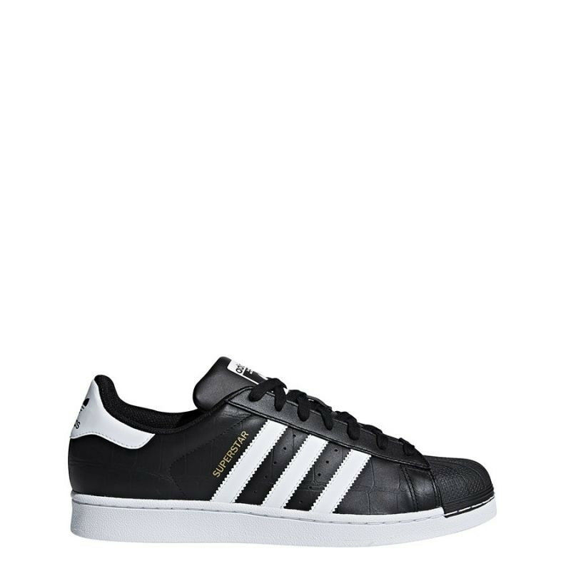 Adidas Originals Superstar Black Trainers - Adults + Junior sizes Available