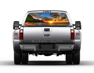 Image result for truck window graphics
