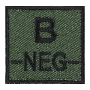ECUSSON-PATCH-GROUPE-SANGUIN-B-B-NEG-B-NEGATIF-avec-DOS-AUTO-AGRIPPANT