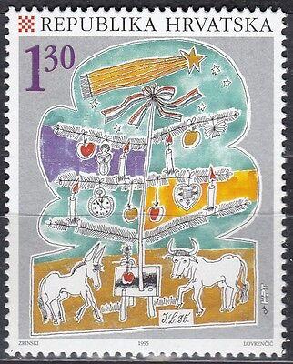 Hrvatska Nr 353** Weihnachten 1995 Kroatien