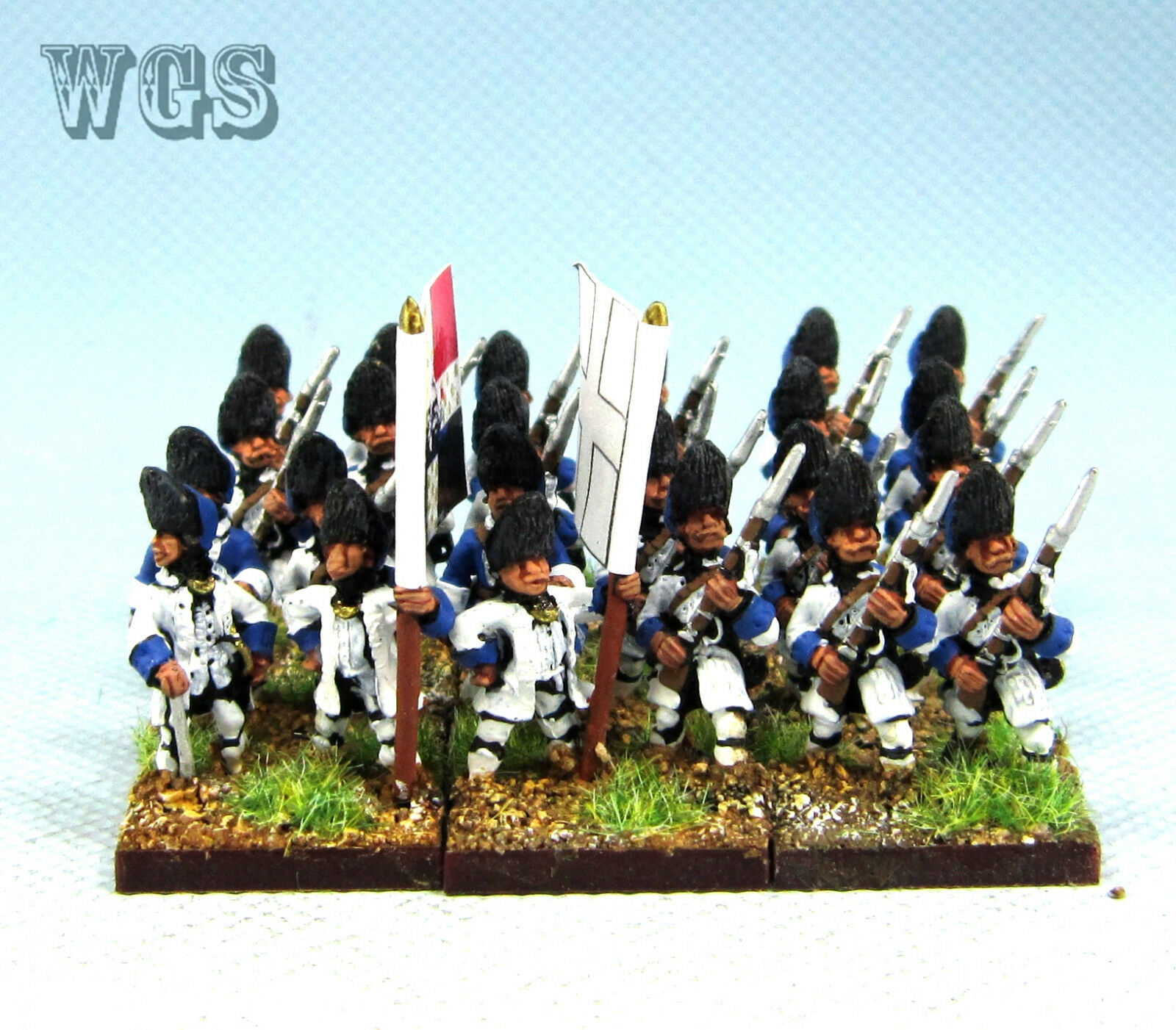 15mm manera Seven Years War Syw Pintado francés Granadero Fa30