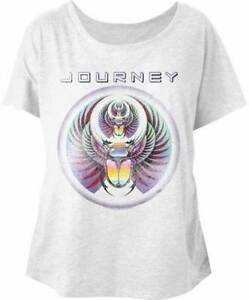 ef4643f412a303 Image is loading Journey-Scarab-Womans-Dolman-T-Shirt-Rock-Music
