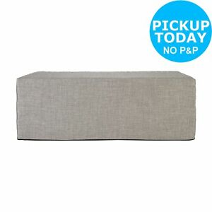 Miraculous Details About Argos Home Prim Fabric Double Ottoman Bed Light Grey Andrewgaddart Wooden Chair Designs For Living Room Andrewgaddartcom