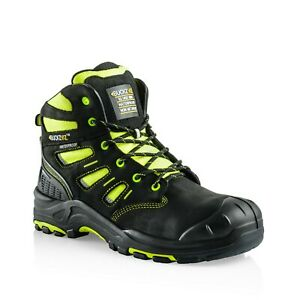 Buckler Buckzviz Lace-up Safety Work Boots Fluorescent Yellow (sizes 6-13) Acheter Un En Obtenir Un Gratuitement