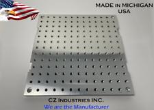 10 X 10 X 12 Mic 6 Aluminum Fixture Sacrificial Plate Mini Pallet Qty1