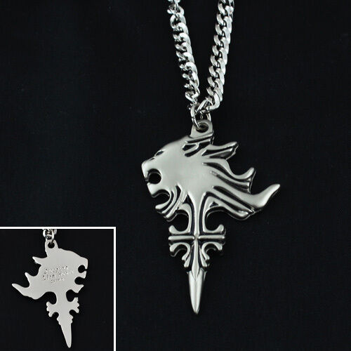 Final fantasy viii ff8 sleeping lion head pendant metal necklace final fantasy viii ff8 sleeping lion head pendant metal necklace cosplay ebay mozeypictures Image collections