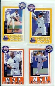 4-N-Y-YANKEE-M-RIVERA-T-MARTINEZ-C-HAYES-C-CURTIS-4-1998-ALL-STAR-BADGE