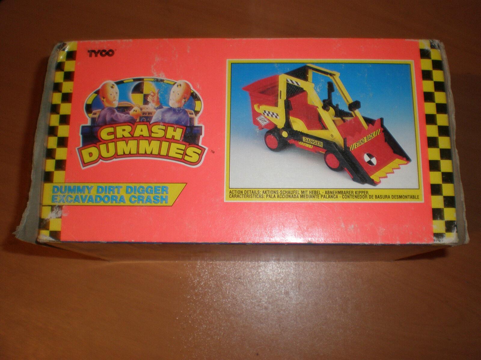VINTAGE CRASH DUMMIES DUMMY DIRT DIGGER MIB MINT TYCO TYCO TYCO 1992 a3c2d1