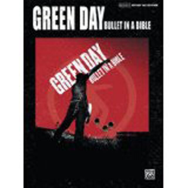 Green Day Bullet In A Bible Guitar Tab Edition Music Songbook S96