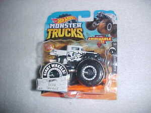 HW-MONSTER-TRUCKS-WHITE-034-BONE-SHAKER-034-VHTF-HOT-WHEELS-DIE-CAST-HOT-ROD-4X4