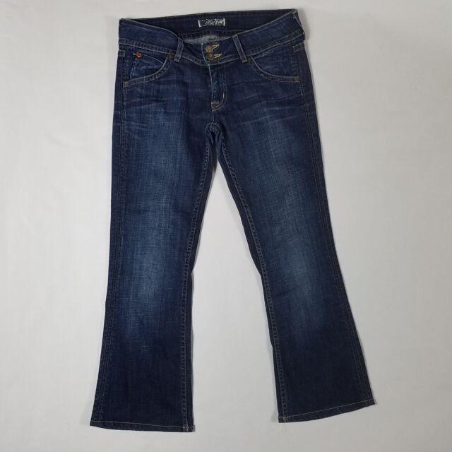 ce28773182d Hudson Signature Bootcut Blue jeans W170DHA Flap Pocket Stretch Sz 28  Length 26