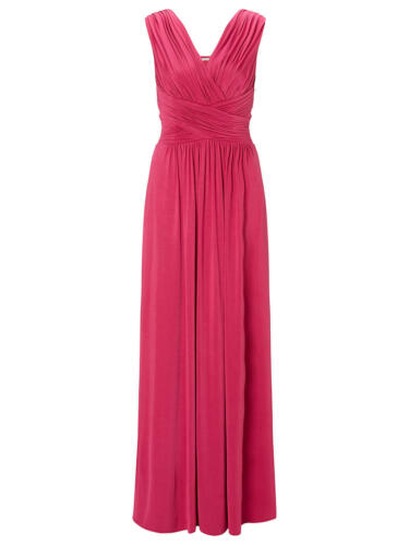 £99 Dress Was Frances Size Jersey John Lewis New Pink Maxi In 12 1gIxzqF