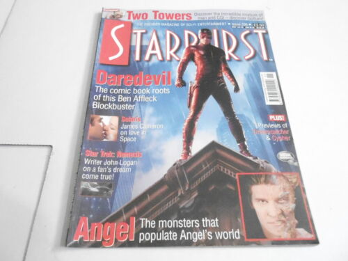 #295 STARBURST science fiction magazine DAREDEVIL movie AFFLECK