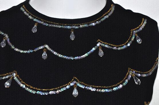 Vintage MorLove The Couturier Blouse Black Sleeve… - image 3