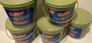 Lot Of 5 Cutter Citro Guard Citronella Candle | eBay