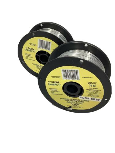 Best Fi-Shock Pro Power Electric Fence Wire 250  Aluminum FW-00018D 1 Pack NEW