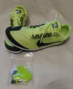 Nike-Zoom-Rival-D-10-Cleat-Shoe-907566-703-Men-039-s-Size-10-1-2-Yellow-Black-New