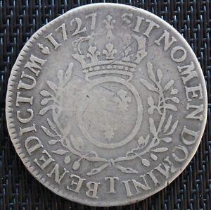 LOUIS-XV-ECU-AUX-BRANCHE-D-039-OLIVIER-1727-T-NANTES