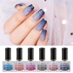 BORN-PRETTY-6ml-Thermal-Nail-Polish-3-Layers-Glitter-Holographic-Nail-Varnish