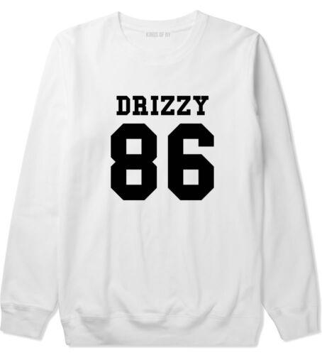 Kings of NY Drizzy Team 86 Crewneck Sweatshirt Toronto Trophies Worst  Black CA
