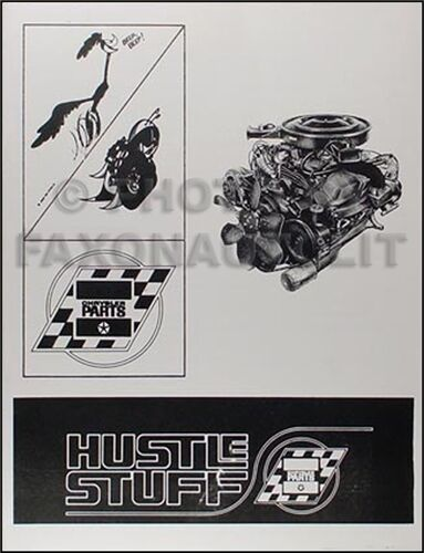 1966 1967 1968 1969 Dodge Plymouth Racing Parts Catalog and Engine Modifications