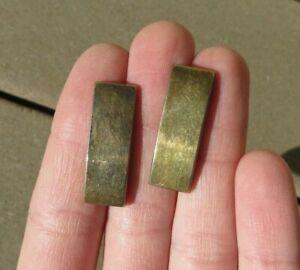 Smaller Insignia pin,Gold Plated Pair Lieutenant Bars