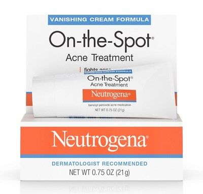 New Neutrogena On The Spot Acne Treatment With Benzoyl Peroxide