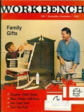 1968 Workbench Magazine: Child's Rocking Chair/Doll House/Lamp Timer/Gun Rack