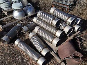 Braided Stainless Steel High Temp Flex Joint Ebay