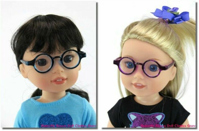 "Polka Dot Sunglasses 14/"" Doll Clothes Accessory For American Girl Wellie Wishers"