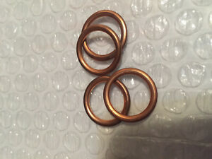 NEW MINI COOPER Seal Ring for Engine Oil Drain Plug 11 13 7 546 275