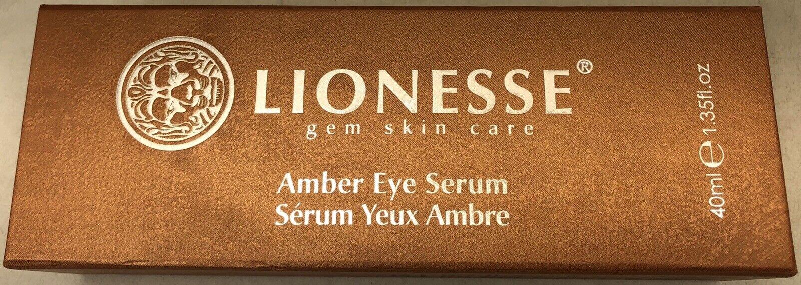 Lionesse Gem Skin Care Amber Eye Serum 40ml 1 35fl Oz For Sale Online Ebay