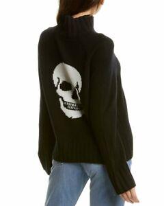 Skull-Cashmere-Leighton-Turtleneck-Cashmere-Sweater-Women-039-s